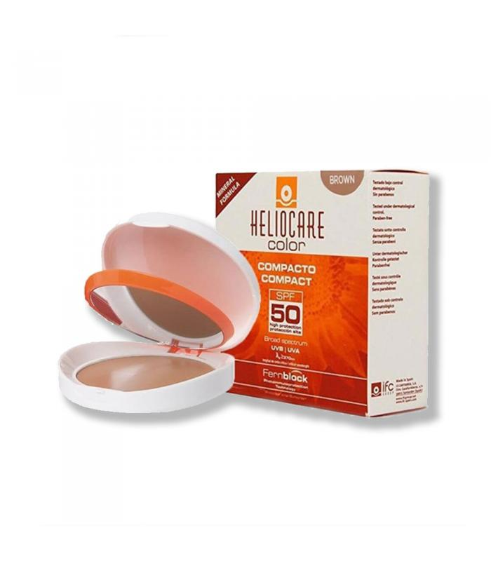 COMPACT PUDER SPF 50+ (BROWN) - HELIOCARE